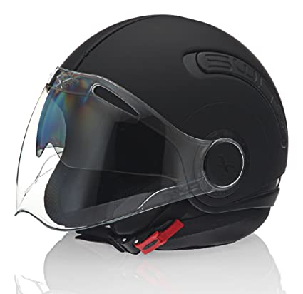 Nexx SX.10 Black Motorcycle Helmet (Small)