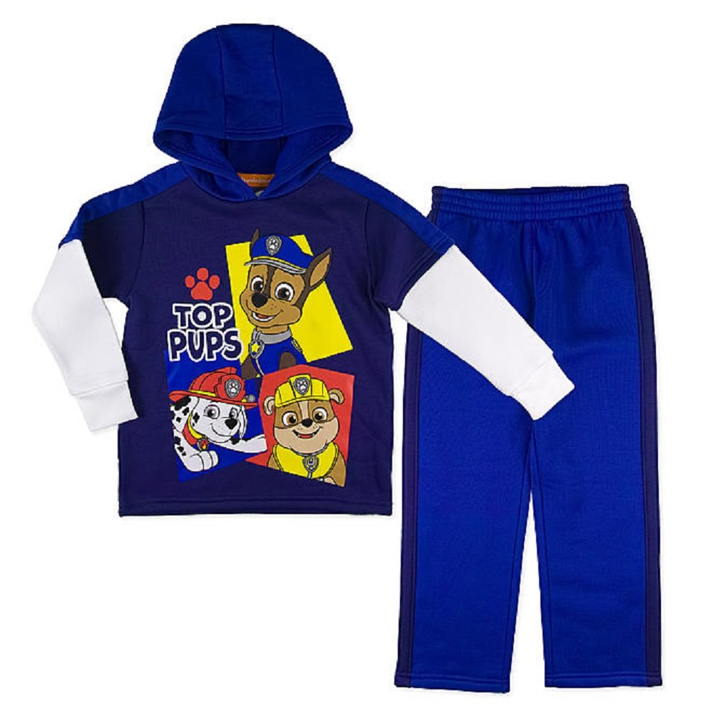Marvel Boys Little 2 Piece Avengers Fleece Set