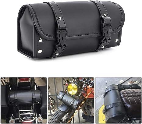 Amazon.com: Bolsa de herramientas para motocicleta, de piel ...