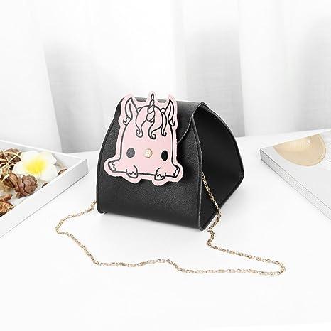 Amazon.com  Shoulder Bag Bucket Bag Lady Bag Cartoon Chain Mini Bag Bucket  Bag Messenger Bag Fashion Wild Female Bag 45b1abd79d46d