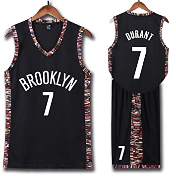 Brooklyn Nets 7 y 11 Camisetas De Baloncesto,Kevin Durant y Kyrie Irving Deportes De Verano Uniforme De Baloncesto,Uniformes de baloncesto para ...