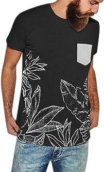 Polo para Hombre de Manga Corta Casual Moda Algodón Camisas Denim Cuello en Contraste Golf Tennis Oficina Camisa Negra Crop Top Camisas Hombre Camisas Manga Corta Hombre Camisa Verde Jodier: Amazon.es: Deportes