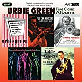 5 Classic Albums - Urbie Green - All About Urbie Green/Blues And Other Shades Of Green/Urbie Green And His Band