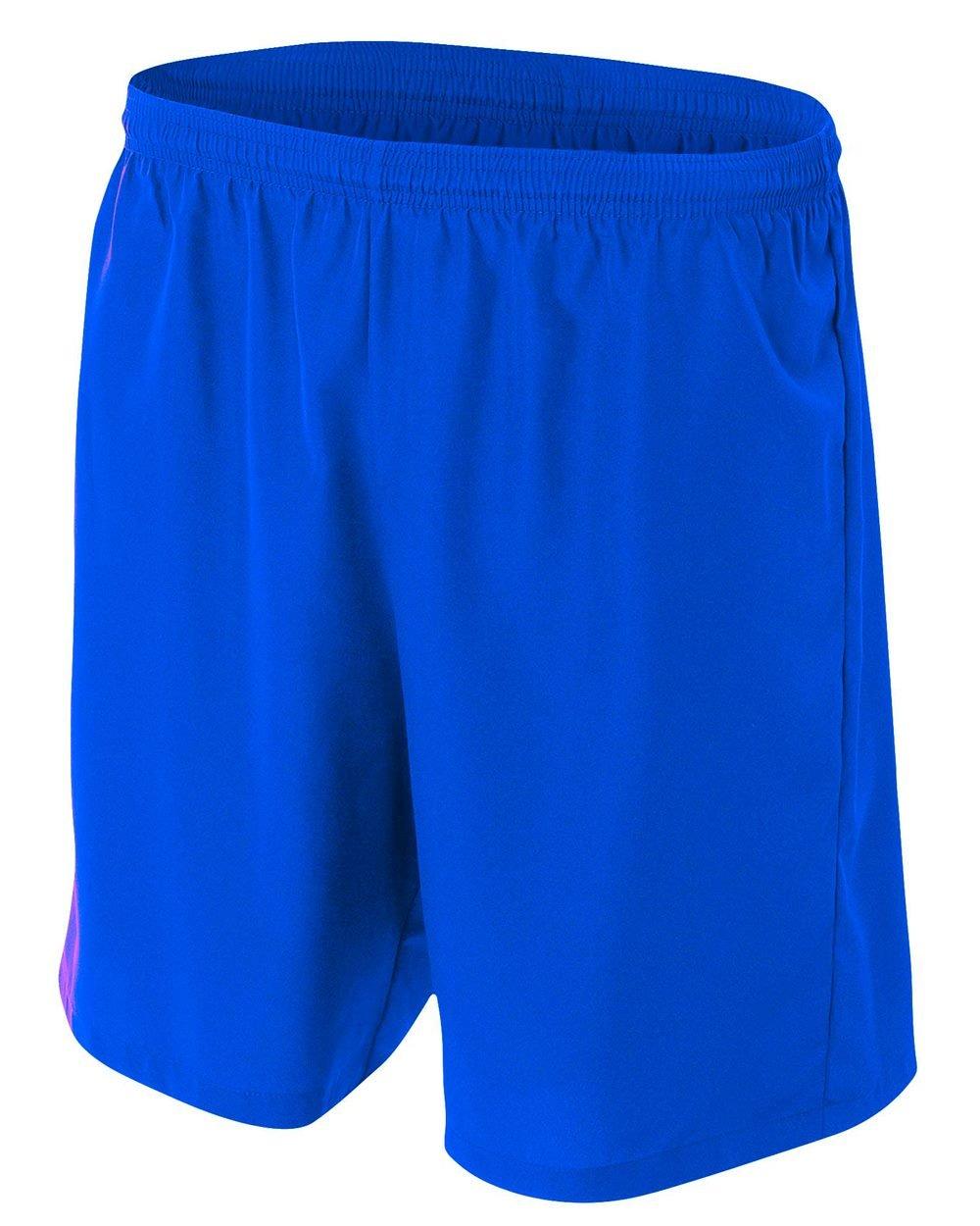 新しいWoven Soccer Shorts Moisture Wicking快適Odor & Stain Resistant ( 6色、子供&大人サイズ10 ) B00SVXQIAY Adult 3XL ロイヤルブルー ロイヤルブルー Adult 3XL