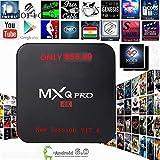 [2018 Version] Kodi 17.4 Krypton MXQ Pro TV BOX UHD 4K Android 6.0/64Bit/Amlogic S905X Quad Core