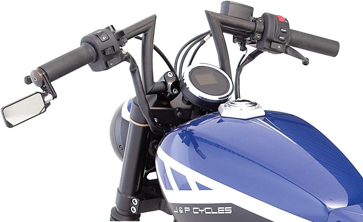 With Dimples, for Factory Harley-Davidson Controls Biltwell HB-KSD-01-CP Chrome 1 Keystone Handlebar