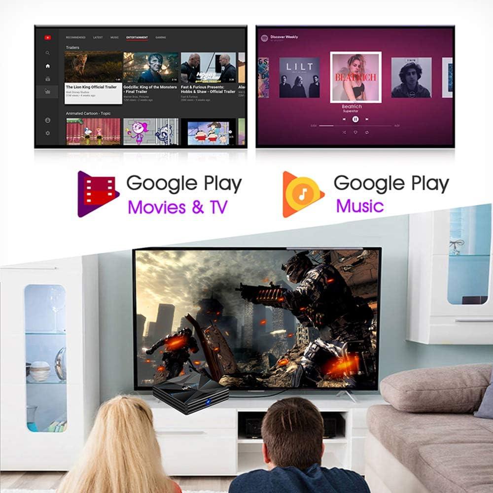 YPSMCYL HK1 Super Android 9.0 CAIXA De TV Inteligente Google ...