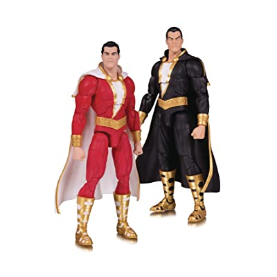 DC Collectibles Essential: Shazam & Black Adam Action Figure: Toys & Games