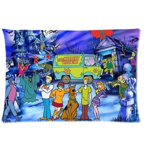 (Fashion Pillow CoverCustom Scooby Doo Cartoon Design Home Decorative Pillowcase Pillow Case Cover 2030 Two Sides Print)