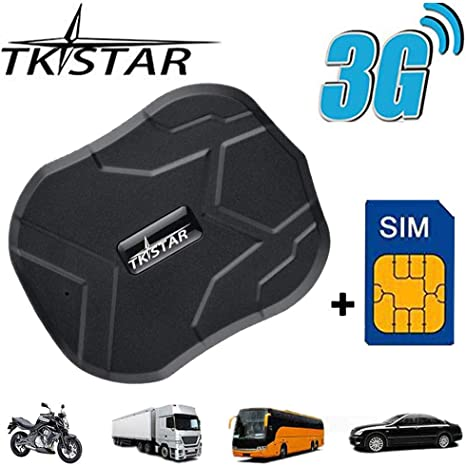GPS Tracker TK905B Strong Magnetic GPS Tracker for Vehicles Realtime Tracking Device for Cars with Anti Theft Alarm and Speed Monitoring for Car Motorcycles Trucks Vehicles