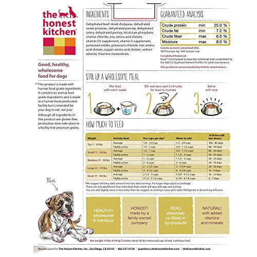 The Honest Kitchen Hope Dog Food