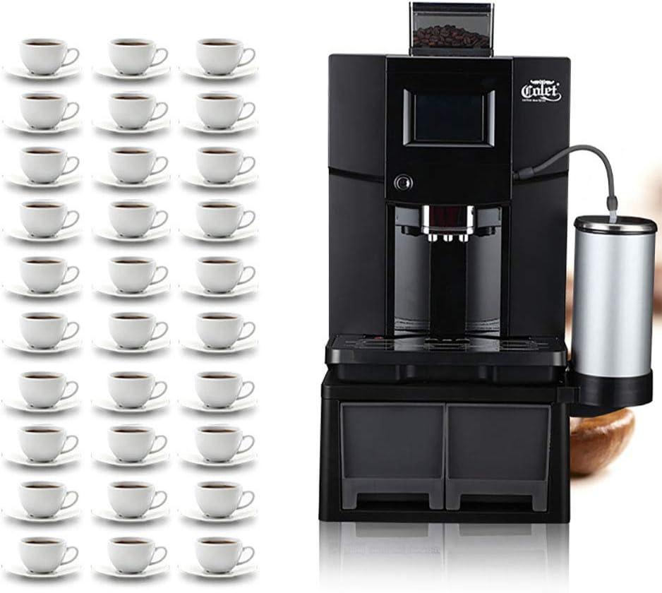 JHSHENGSHI Cafetera superautomática, 19 Bares de presión, programas Ajustables, Auto-Limpieza, Sistema Cappuccino, Black: Amazon.es: Deportes y aire libre