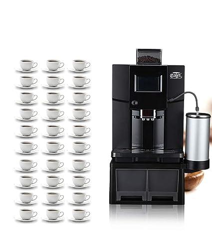 LHJCN Cafetera superautomática, 19 Bares de presión, programas ...