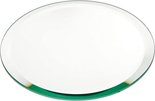 Plymor Round 5mm Beveled Glass Mirror, 6 inch x 6 inch Pack of 3