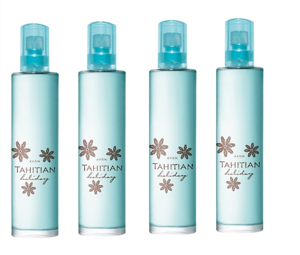 Tahitian Holiday Eau de Toilette Spray 50ml – Pack of 4 – each individually boxed