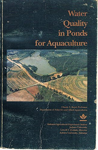 Water Quality in Ponds for Aquaculture (Aquaculture Pond)