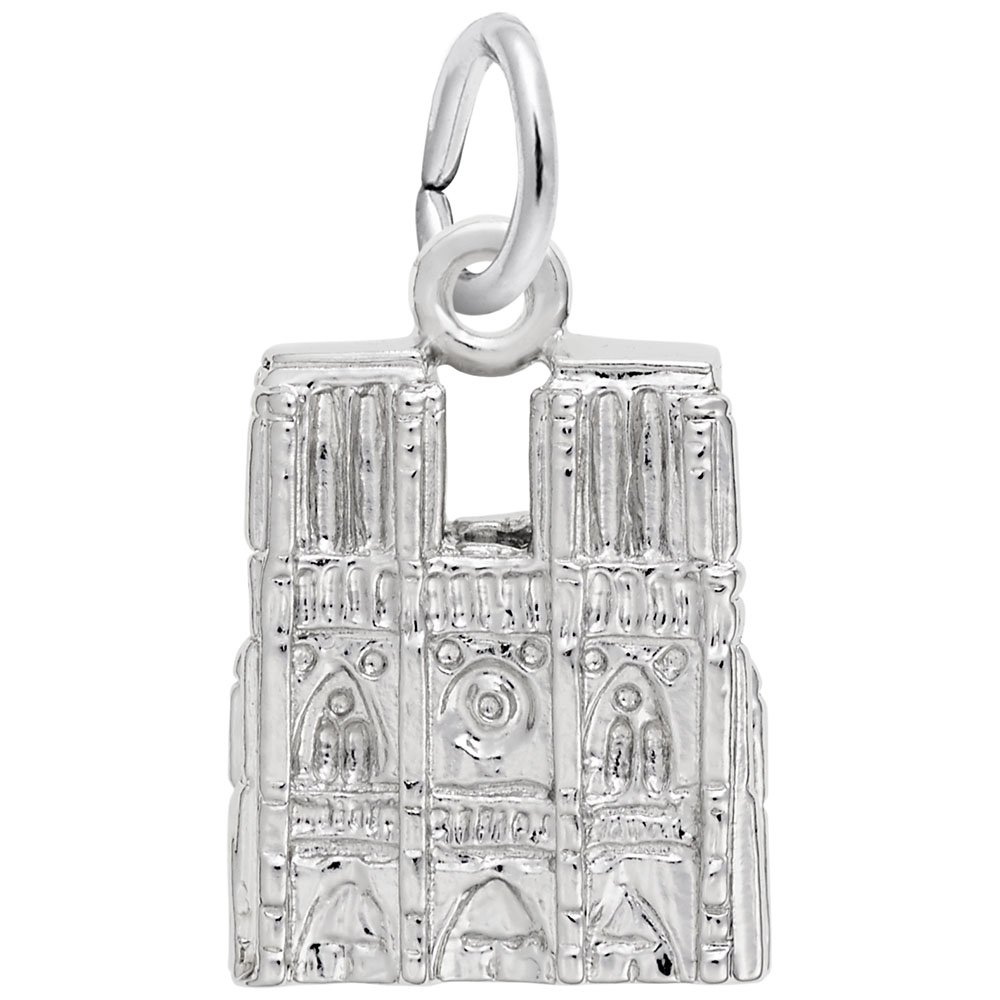 Rembrandt Charms, Notre Dame Cathedral.925 Sterling Silver