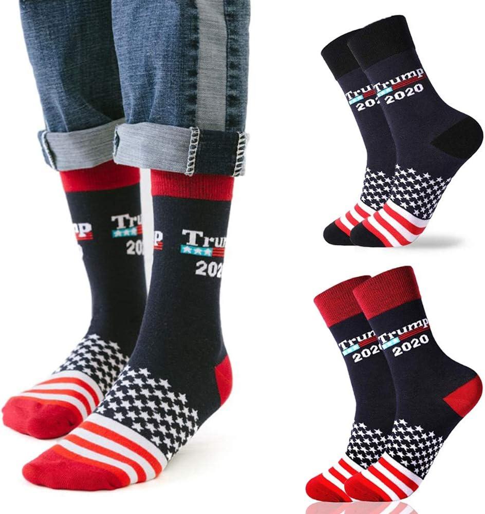 Peahop Calcetines Casuales Donald Trump President Socks Campa/ña Presidencial Calcetines Casuales de algod/ón Algod/ón Unisex