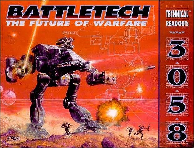The Future of Warfare Technical Readout 3058 BattleTech