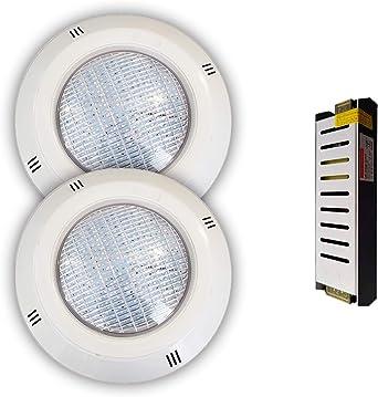 Pack Focos LED 18W RGBV+ Cable 4 Hilos Configurable + ...
