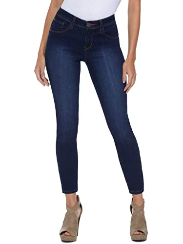GUESS Factory Womens Beyla Curvy Mid-Rise Skinny Jeans