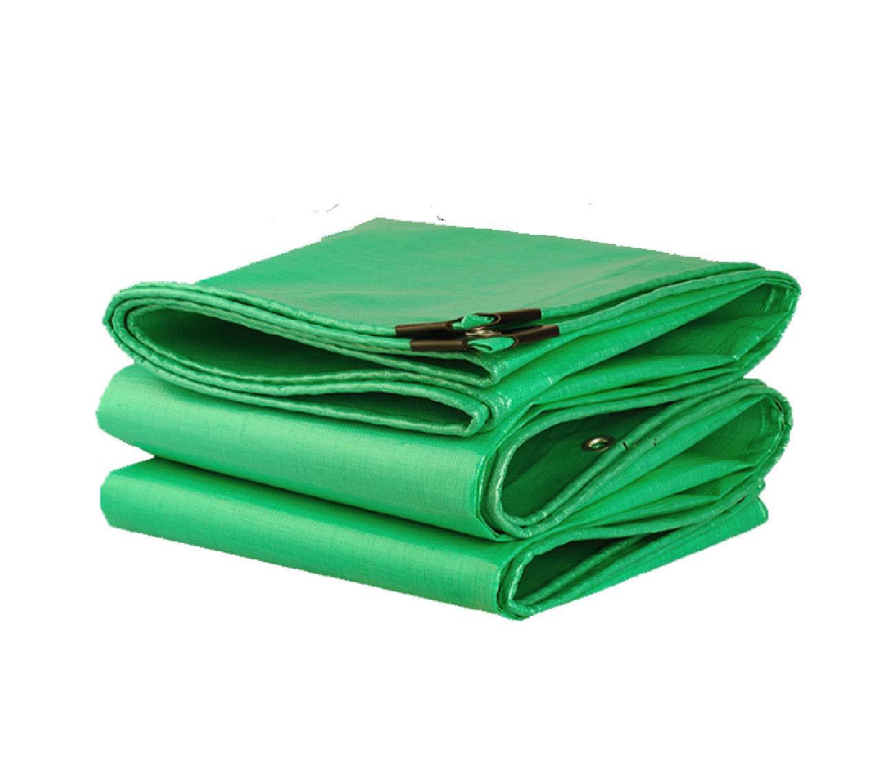 Qewertyuipo Regen-Tuch-Plane, Wasserdichtes Tuch des Wasserdichten imprägnierndes Sonneschirmes des Verdoppelung-Grüns Sonnenschutzisolierung-Überdachungs-Tuch-LKW-Ölbaldachinsegeltuch