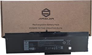 JIAZIJIA 1FXDH Laptop Battery Replacement for Dell Latitude 5501 5511 E5501 E5511 Precision 3541 3551 Series Notebook 01WJT0 1WJT0 Black 11.4V 97Wh 8071mAh 6-Cell