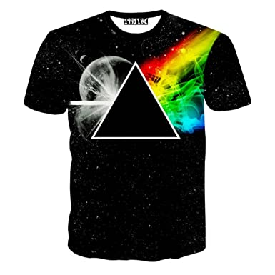 New New Arrivals Fashion Brand Clothing t Shirt Men Geometry Triangle Space Casual Hot MMA t