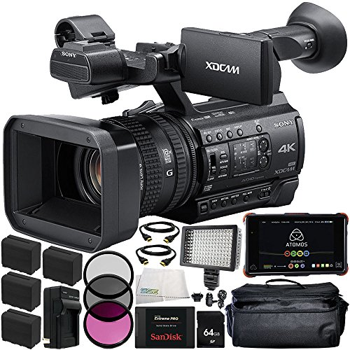Sony PXW-Z150 4K XDCAM Camcorder + Atomos Ninja Flame, used for sale  Delivered anywhere in USA
