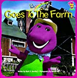 img - for Barney Goes To The Farm book / textbook / text book