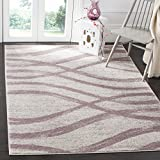 Safavieh Adirondack Collection ADR125L Cream and Purple Modern Area Rug (5'1″ x 7'6″) Review