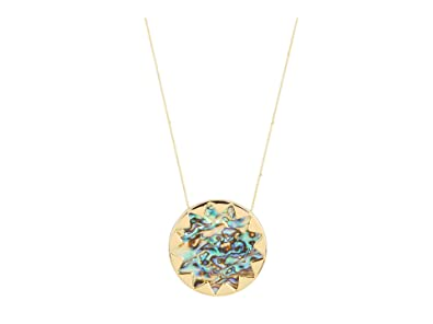 Amazon house of harlow 1960 abalone sunburst pendant necklace house of harlow 1960 abalone sunburst pendant necklace aloadofball Images