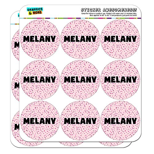Melany - Name Planner Calendar Scrapbooking