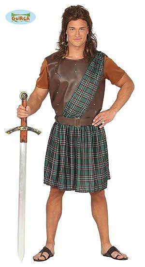 Disfraz de Luchador Escocés para hombre