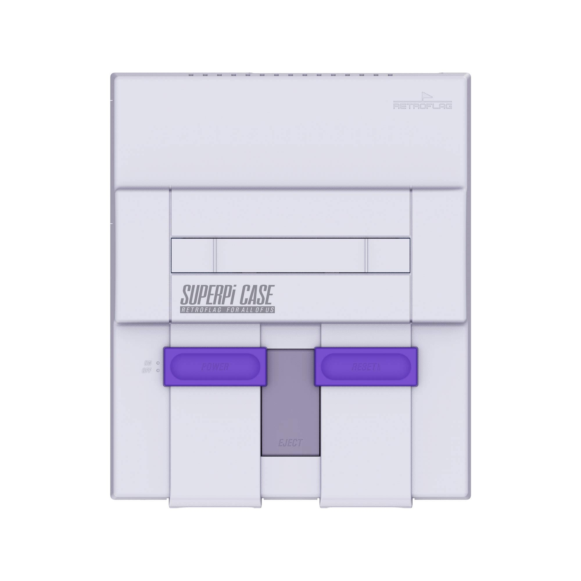 Retroflag SUPERPi Case Functional Power Button with Safe Shutdown for Raspberry Pi 3 B+ (B Plus) UCase