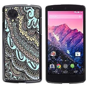 Dragon Case - FOR LG Nexus 5 D820 D821 - there is hope - Caja protectora de pl??stico duro de la cubierta Dise?¡Ào Slim Fit