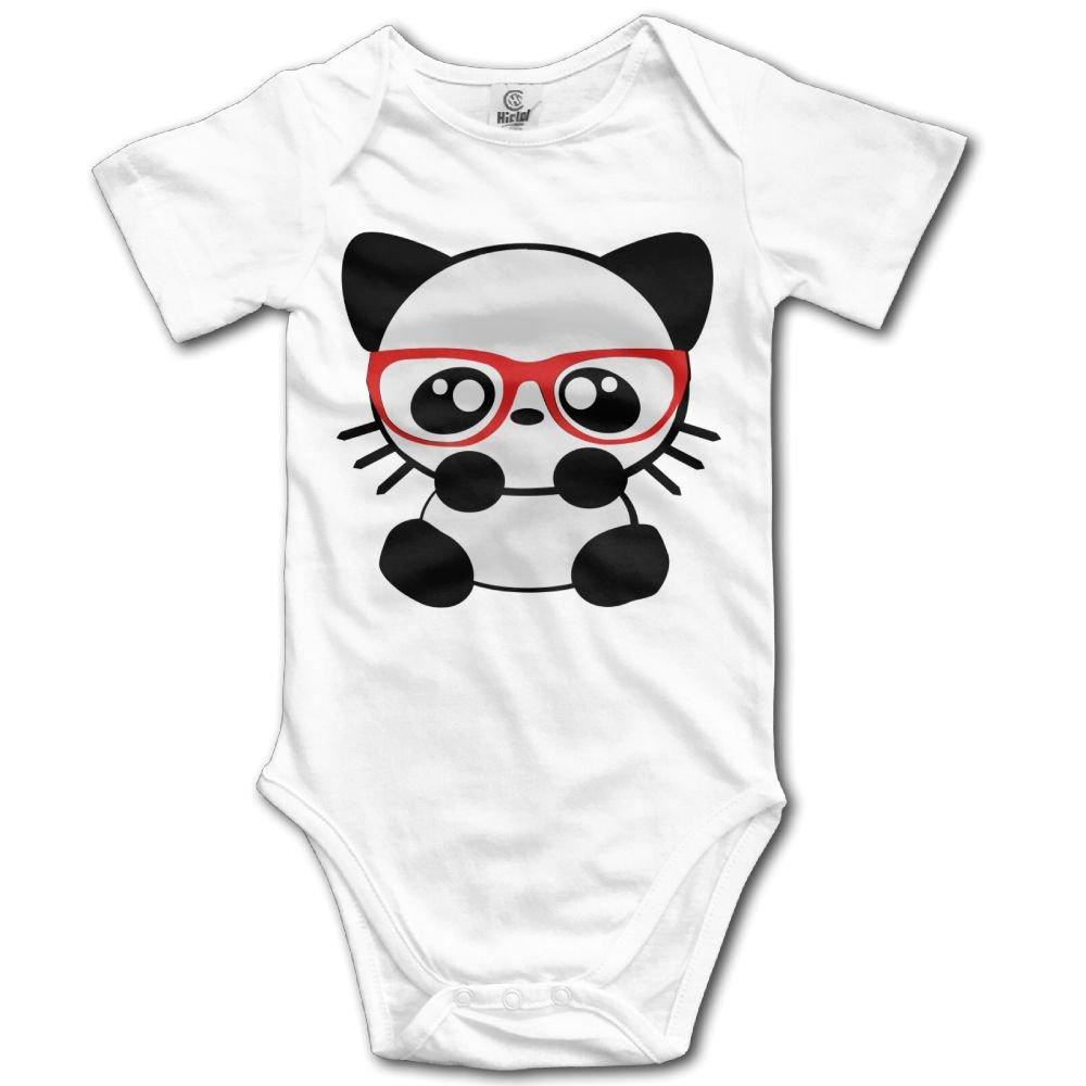 Volunteer Nerd Cat Boys /& Girls White Short Sleeve Romper Bodysuit Outfits for 0-24 Months
