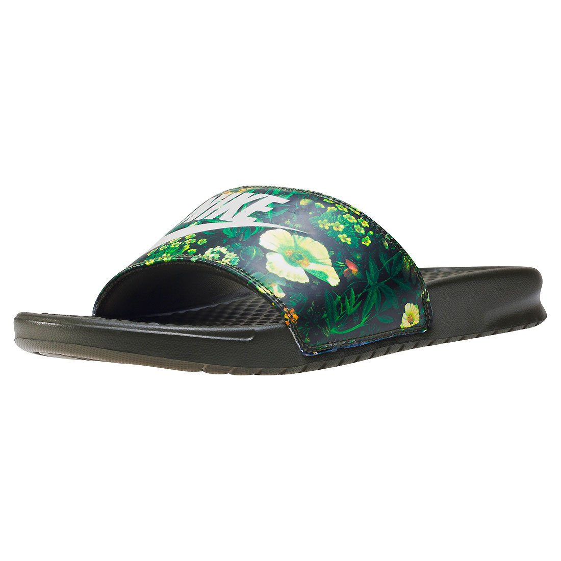 4e3d90c6b9e6 Nike Benassi Jdi Print Womens Slide Khaki Green - 7.5 UK  Amazon.co.uk   Shoes   Bags