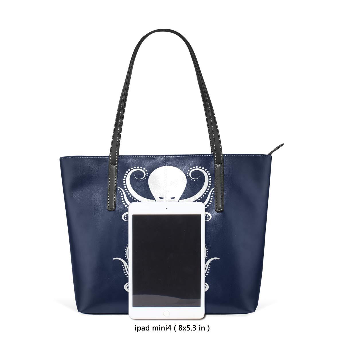 Islamic Vintage Tribal Womens PU Leather Tote Shoulder Bags Handbags Casual Bag