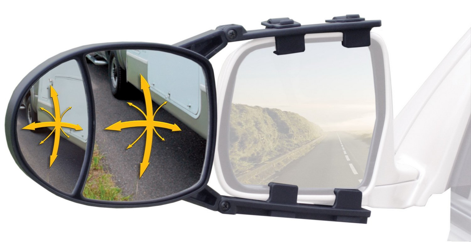 Reese Towpower 7034200 Dual View Clip-On Towing Mirror