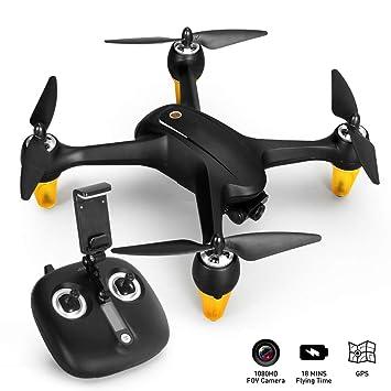 LJXWXN Drone GPS,Drone con Cámara 1080P HD, WiFi FPV RC Avion con ...
