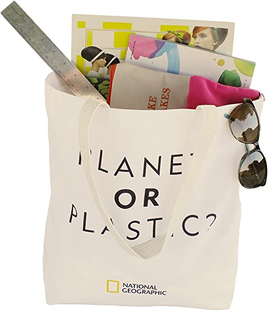 Toys R Us New w//tag Reusable Tote Shopping Bag made of 100/% recycled materials