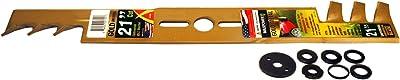 Maxpower 331981B Universal Gold Metal Mulching Lawn Mower Blade