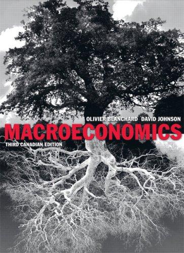 Macroeconomics, Third Canadian Edition