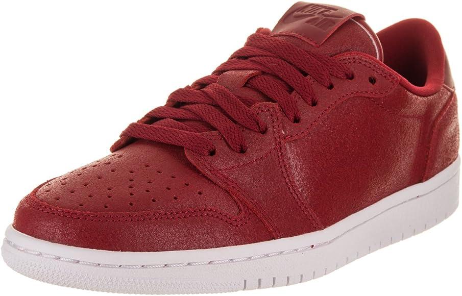 new product c28d1 1ae5e Jordan Nike Women s Air 1 Retro Low NS Basketball Shoe 9 Red