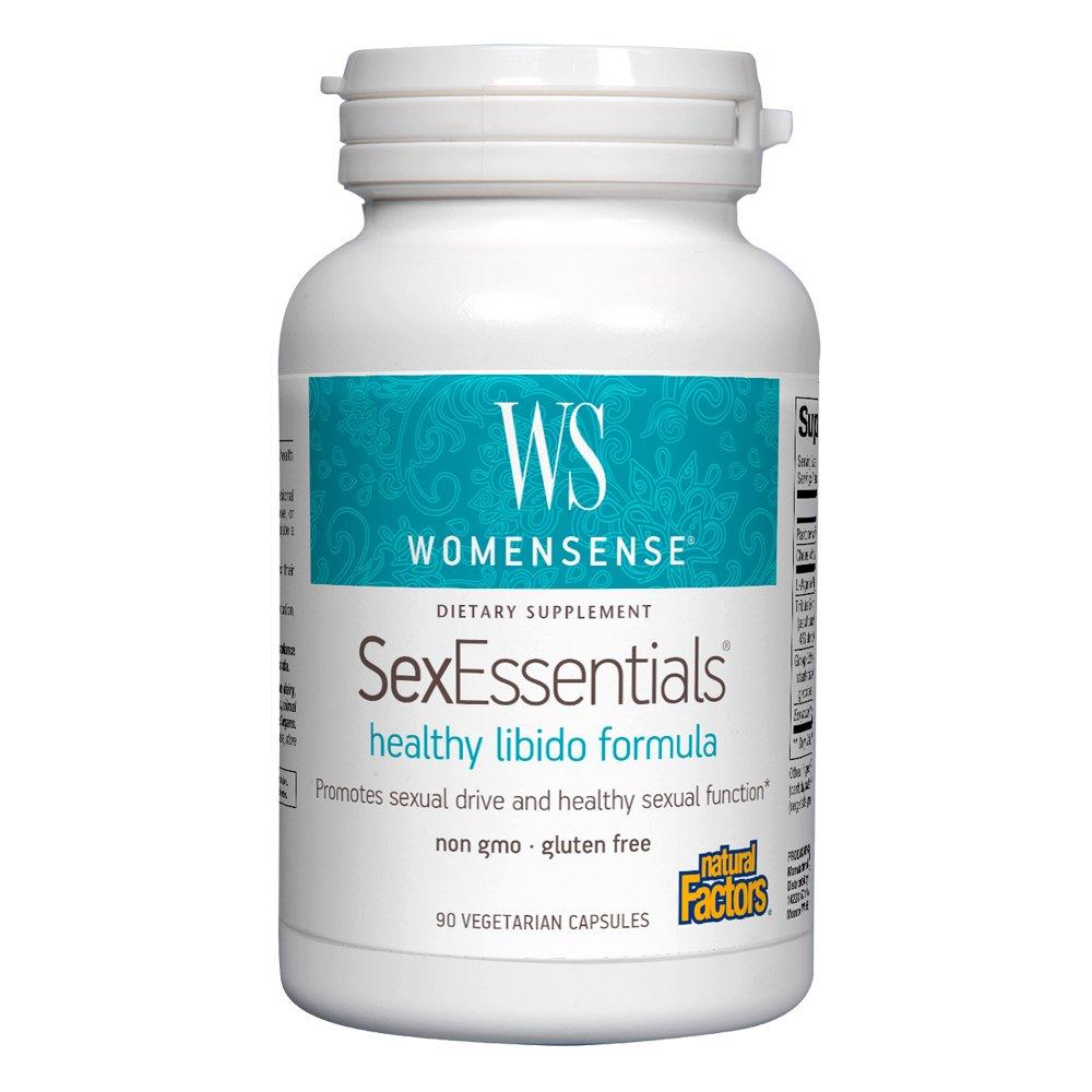 Natural Factors - WomenSense SexEssentials - Supports a Healthy Libido, 90 Vegetarian Capsules