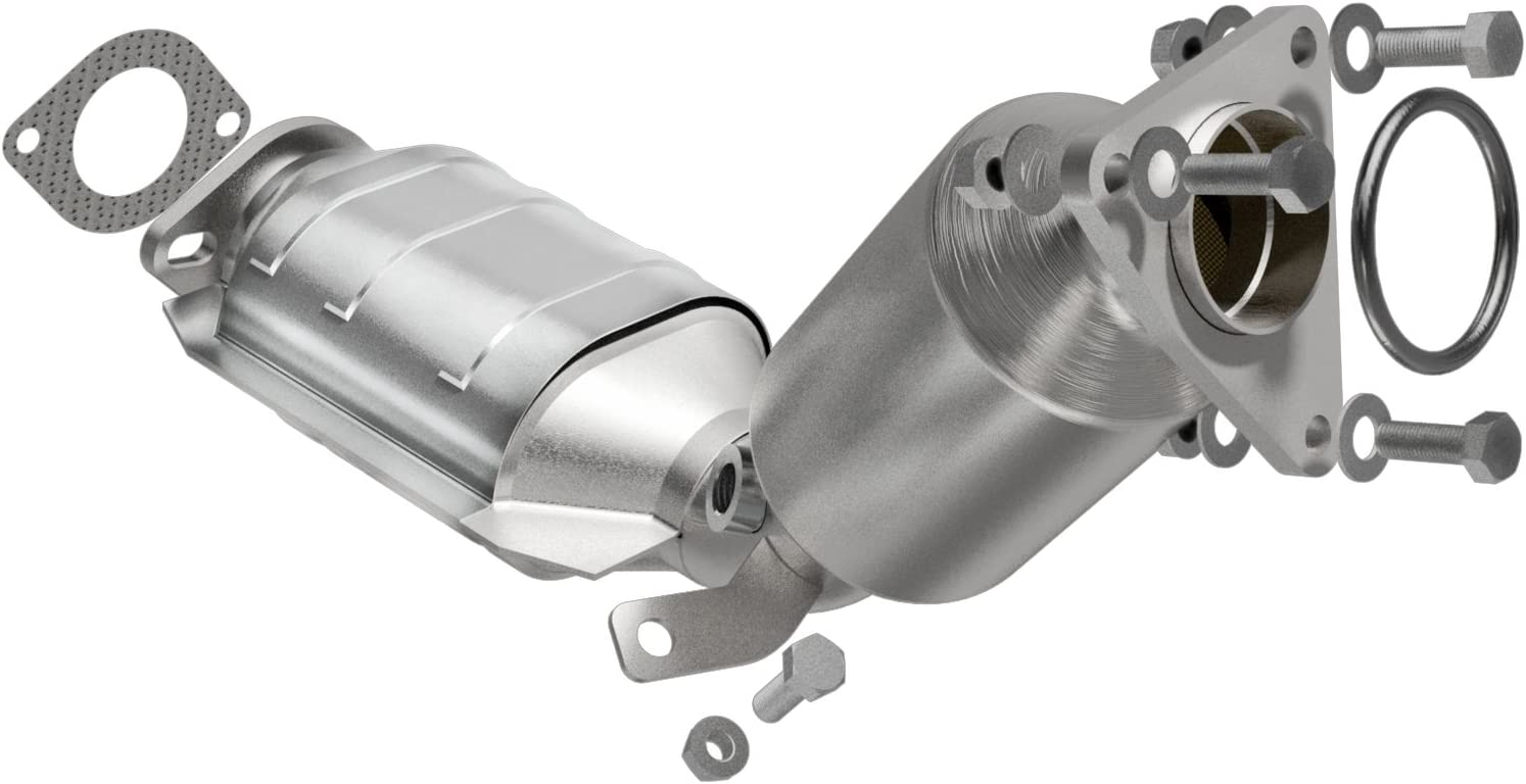MagnaFlow 49843 Large Stainless Steel Direct Fit Catalytic Converter