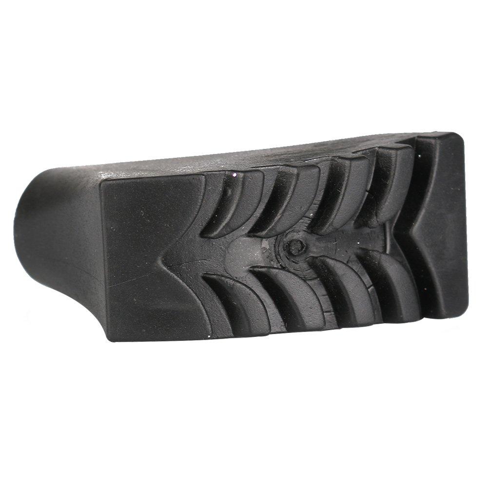 se adapta a todos los bastones de senderismo y caminar est/ándar VigorQ 4 piezas de puntas de goma de repuesto para bastones de senderismo