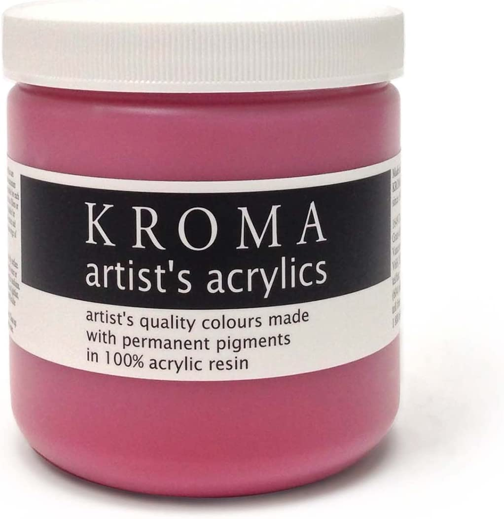 Acrylic Paint Kroma Artists Acrylics Quinacridone Red 500ml Jar