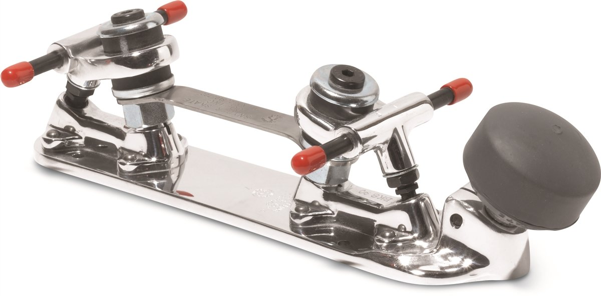 Snyder Super Deluxe Roller Skate Plates (Plate Size 8 (fits Boot Size 6.5-7))